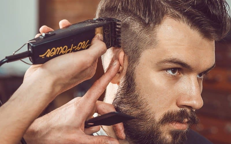 A Fade Haircut With Clippers Step By Step