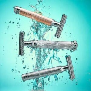 Proper cleaning will make your razor blade last longer.