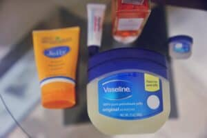 A box of vaseline with unexpected uses
