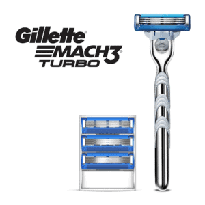 Mach3 Turbo has triple-blade technology, which provides better shaving.