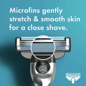 Microfin feature is extremely useful.