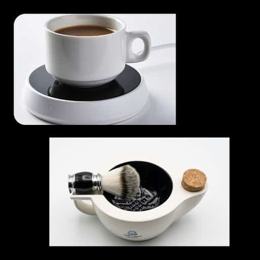 Method of combining coffee warmer and scuttle