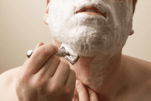 Shave With A Single-Edged Safety Razor