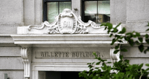 The Gillette building in Montreal, Canada.