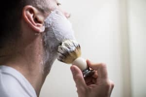 Lathering up your face
