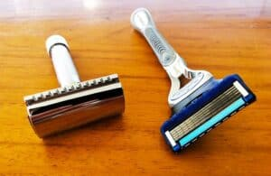 Safety razors are cheap to maintain